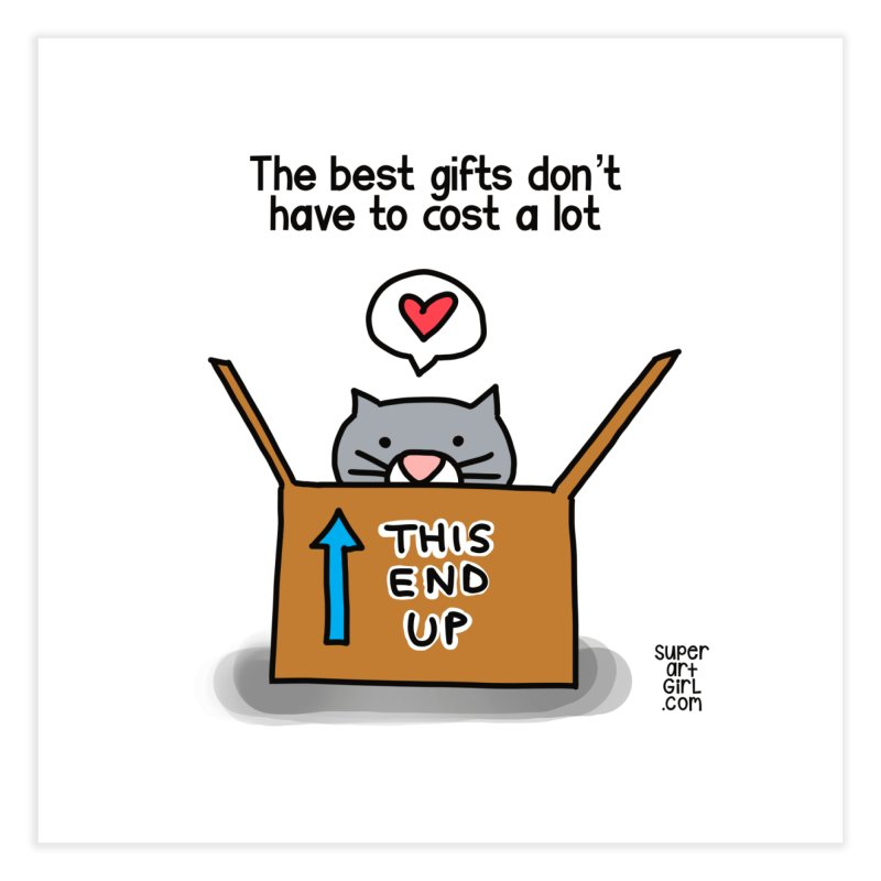 The Best Gifts Home Fine Art Print by superartgirl's Artist Shop