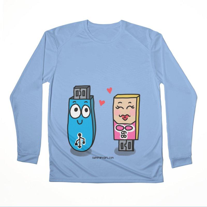 U-SB In Love Women's Longsleeve T-Shirt by superartgirl's Artist Shop