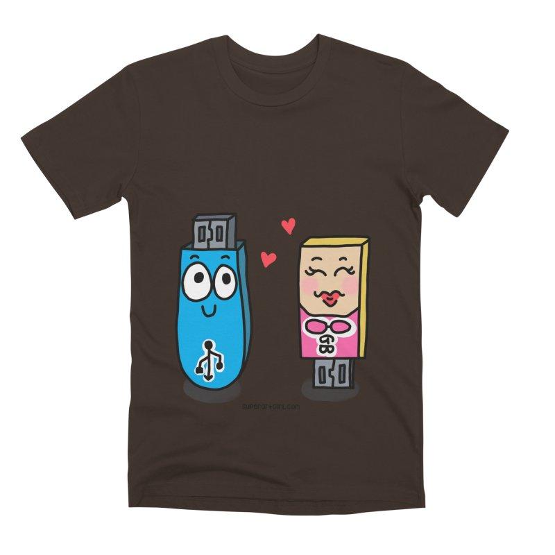 U-SB In Love Men's T-Shirt by superartgirl's Artist Shop