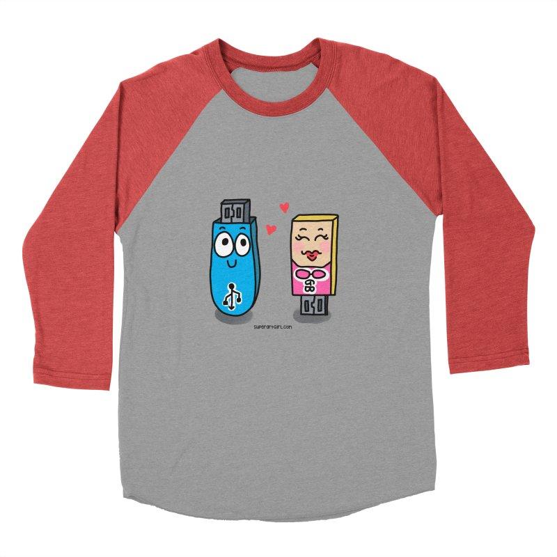 U-SB In Love Men's Longsleeve T-Shirt by superartgirl's Artist Shop