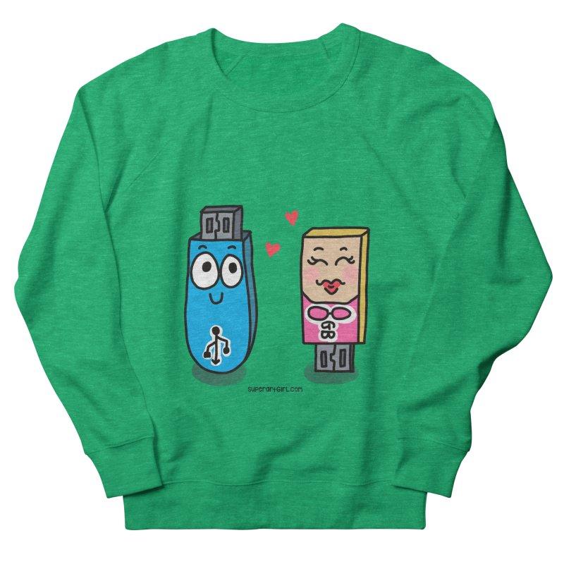 U-SB In Love Women's Sweatshirt by superartgirl's Artist Shop