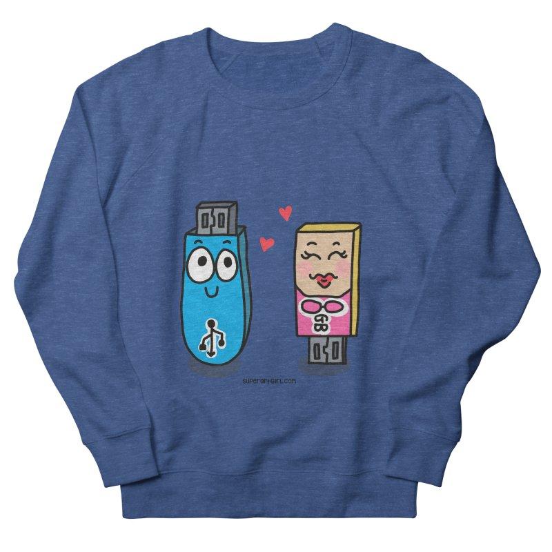 U-SB In Love Men's Sweatshirt by superartgirl's Artist Shop