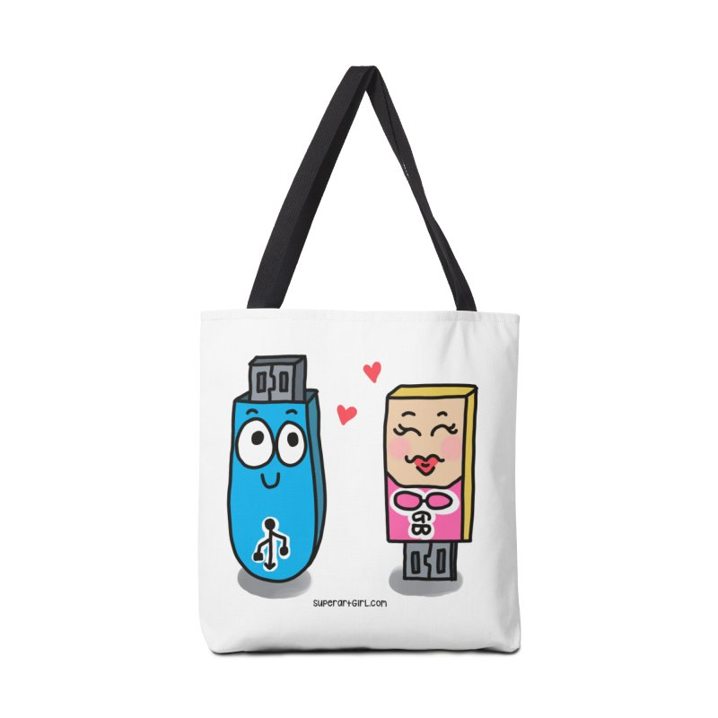 U-SB In Love Accessories Bag by superartgirl's Artist Shop