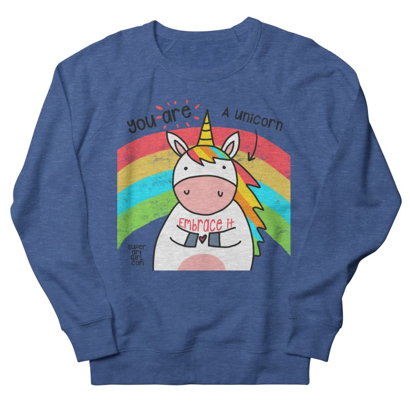 You Are a Unicorn Men's Sweatshirt by superartgirl's Artist Shop