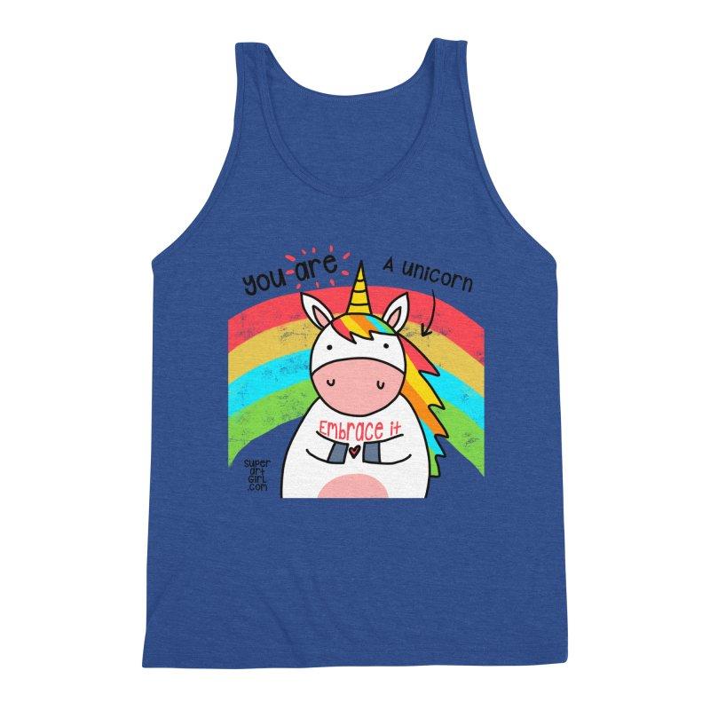 You Are a Unicorn Men's Tank by superartgirl's Artist Shop
