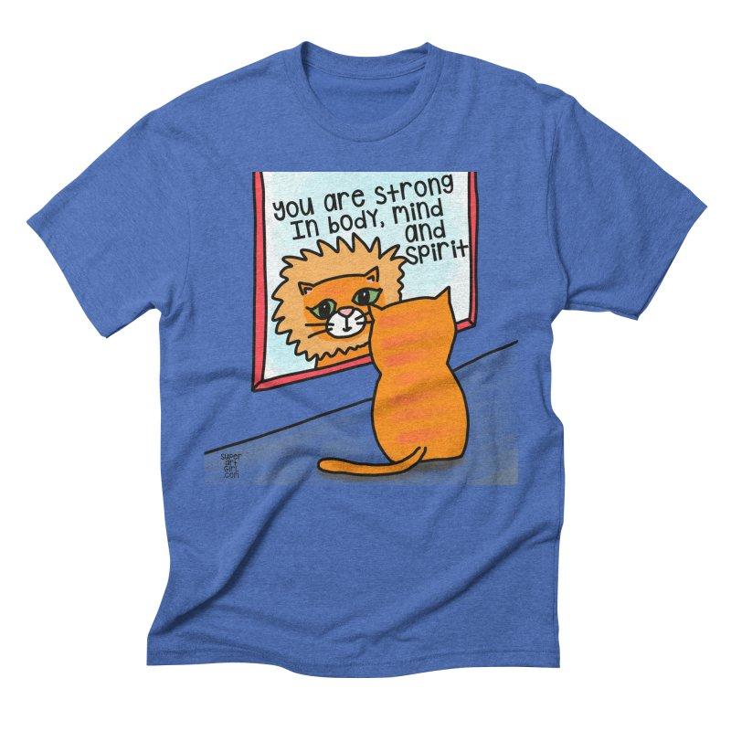 Strong Men's T-Shirt by superartgirl's Artist Shop