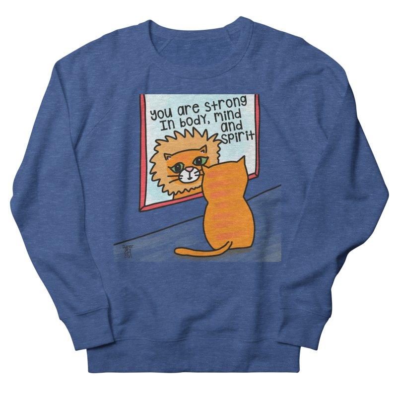 Strong Men's Sweatshirt by superartgirl's Artist Shop