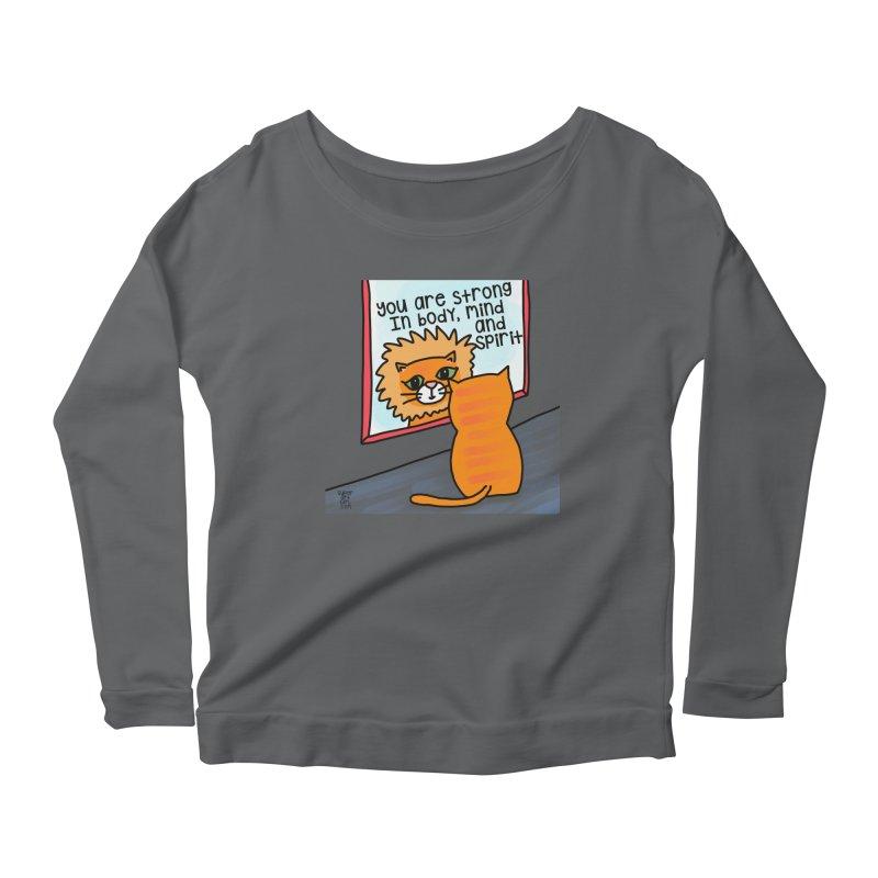 Strong Women's Longsleeve T-Shirt by superartgirl's Artist Shop