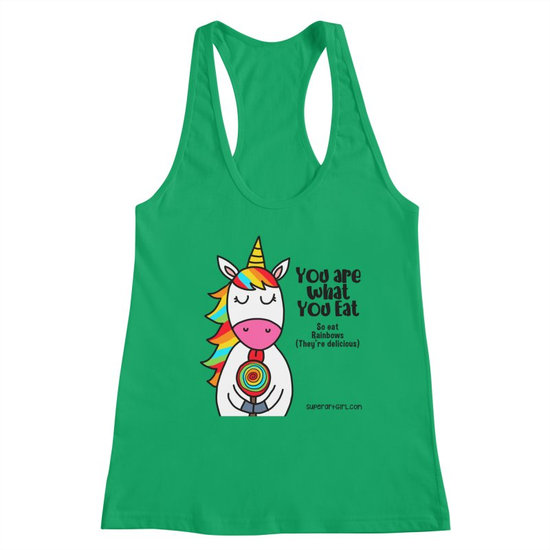 You Are What You Eat Women's Tank by superartgirl's Artist Shop