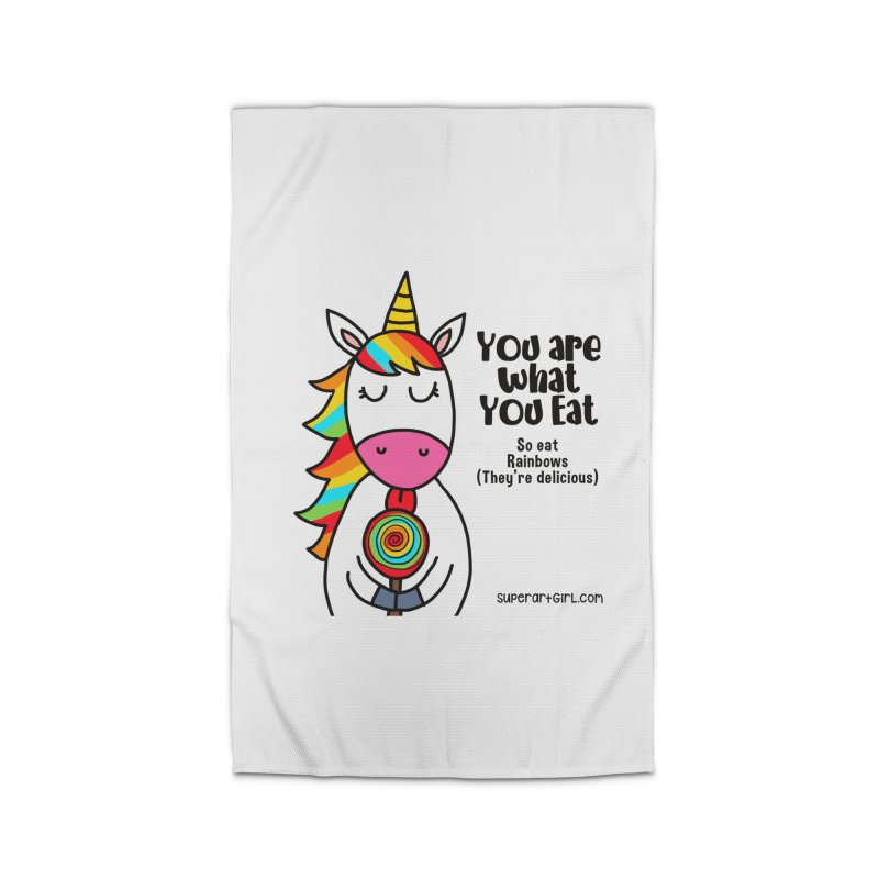 You Are What You Eat Home Rug by superartgirl's Artist Shop