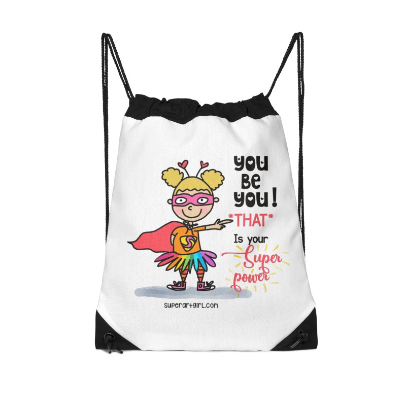 You Be You Accessories Bag by superartgirl's Artist Shop