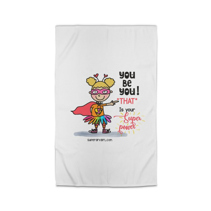 You Be You Home Rug by superartgirl's Artist Shop