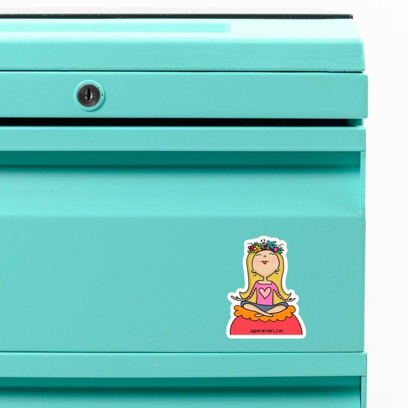 Zen Girl Accessories Magnet by superartgirl's Artist Shop