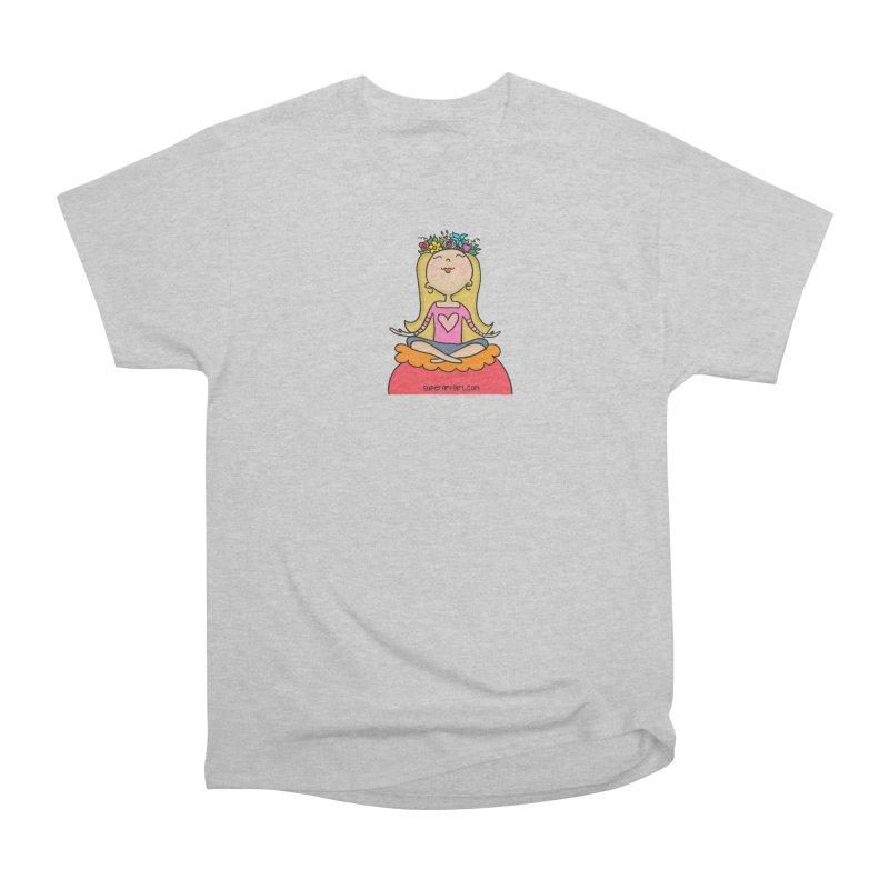 Zen Girl Men's T-Shirt by superartgirl's Artist Shop