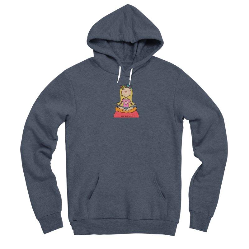 Zen Girl Men's Pullover Hoody by superartgirl's Artist Shop