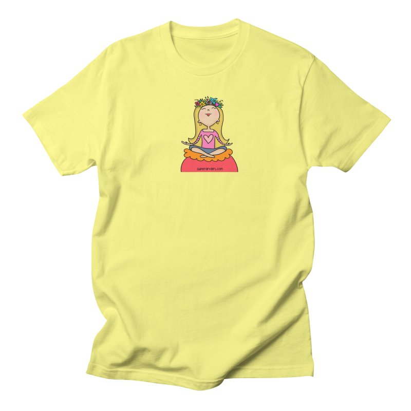 Zen Girl Men's T-Shirt by superartgirl's Artist Shop