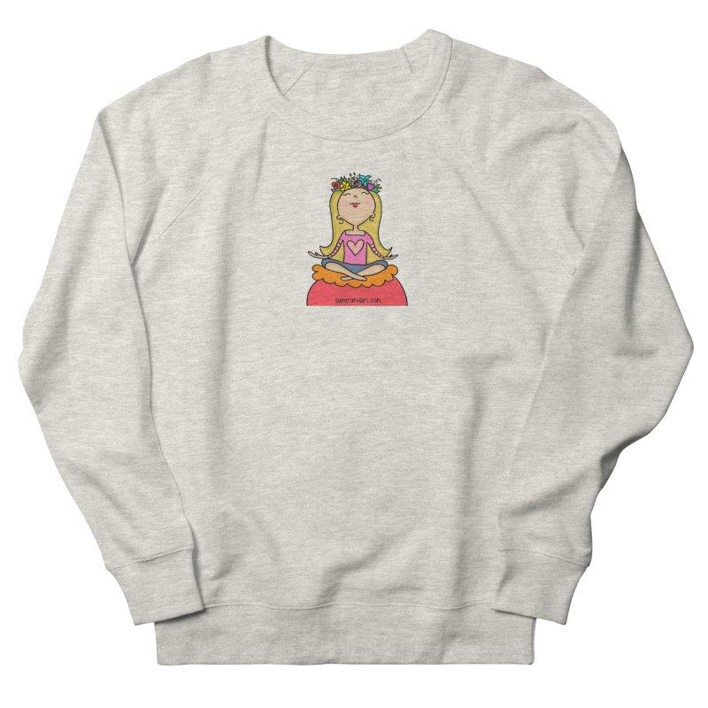 Zen Girl Men's Sweatshirt by superartgirl's Artist Shop