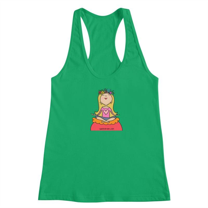 Zen Girl Women's Tank by superartgirl's Artist Shop