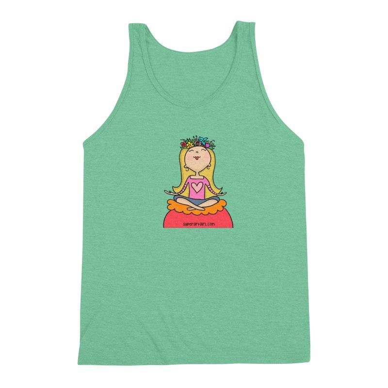 Zen Girl Men's Tank by superartgirl's Artist Shop