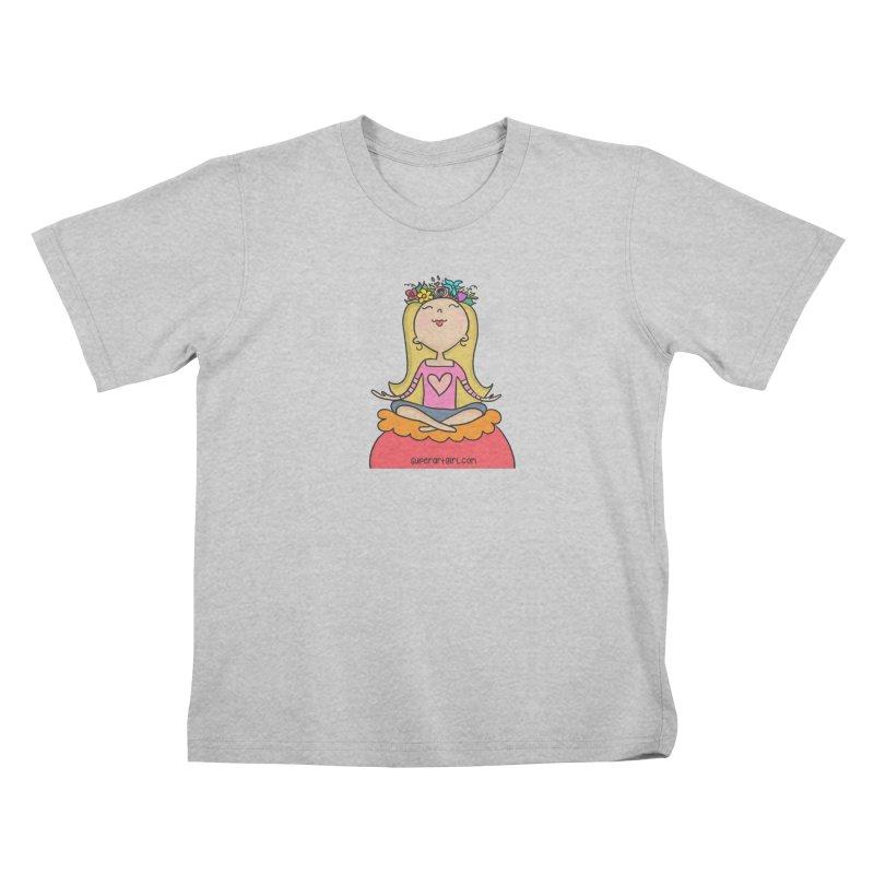 Zen Girl Kids T-Shirt by superartgirl's Artist Shop