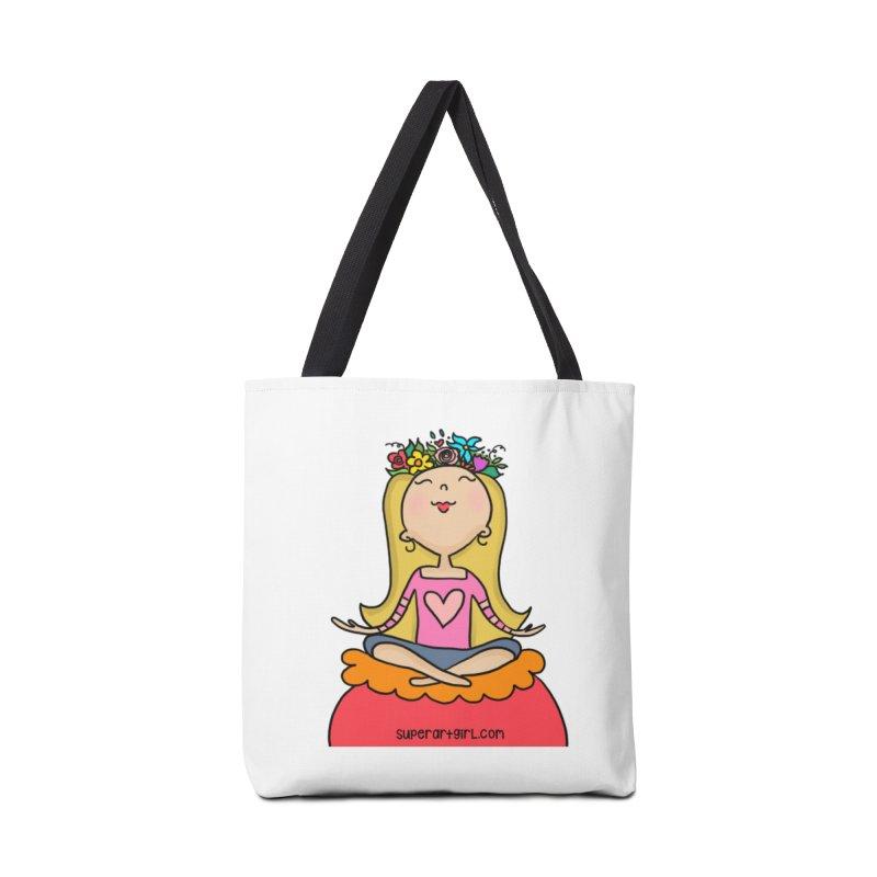 Zen Girl Accessories Bag by superartgirl's Artist Shop