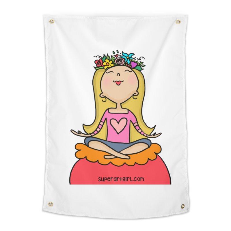 Zen Girl Home Tapestry by superartgirl's Artist Shop