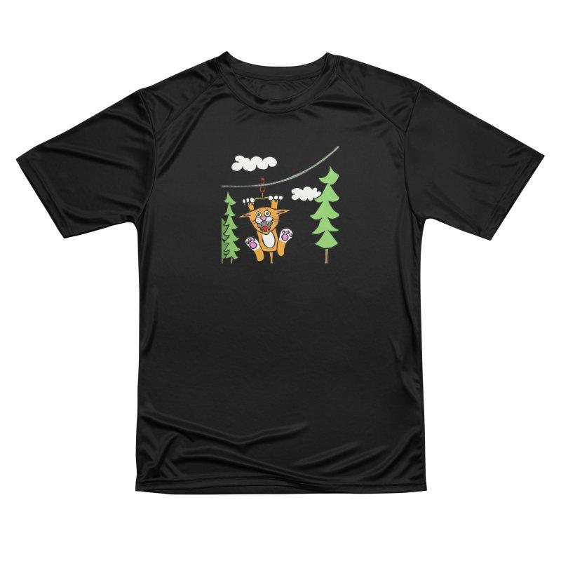 Zip line Men's T-Shirt by superartgirl's Artist Shop