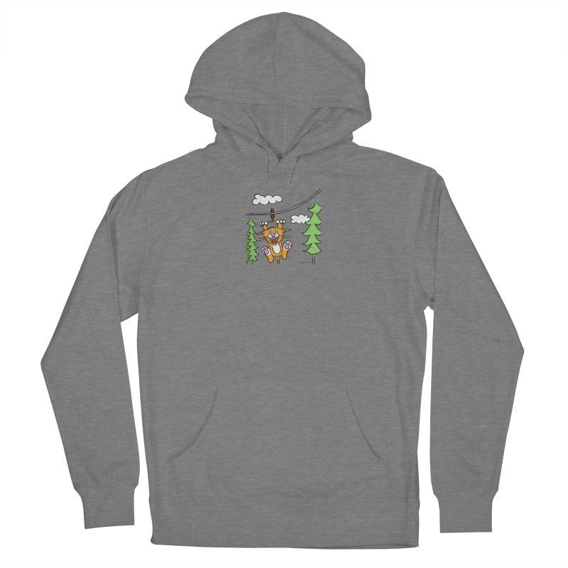 Zip line Women's Pullover Hoody by superartgirl's Artist Shop