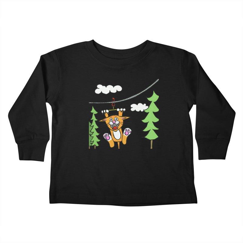 Zip line Kids Toddler Longsleeve T-Shirt by superartgirl's Artist Shop
