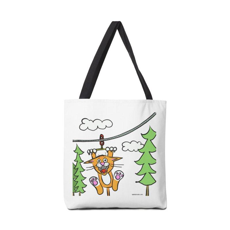 Zip line Accessories Bag by superartgirl's Artist Shop
