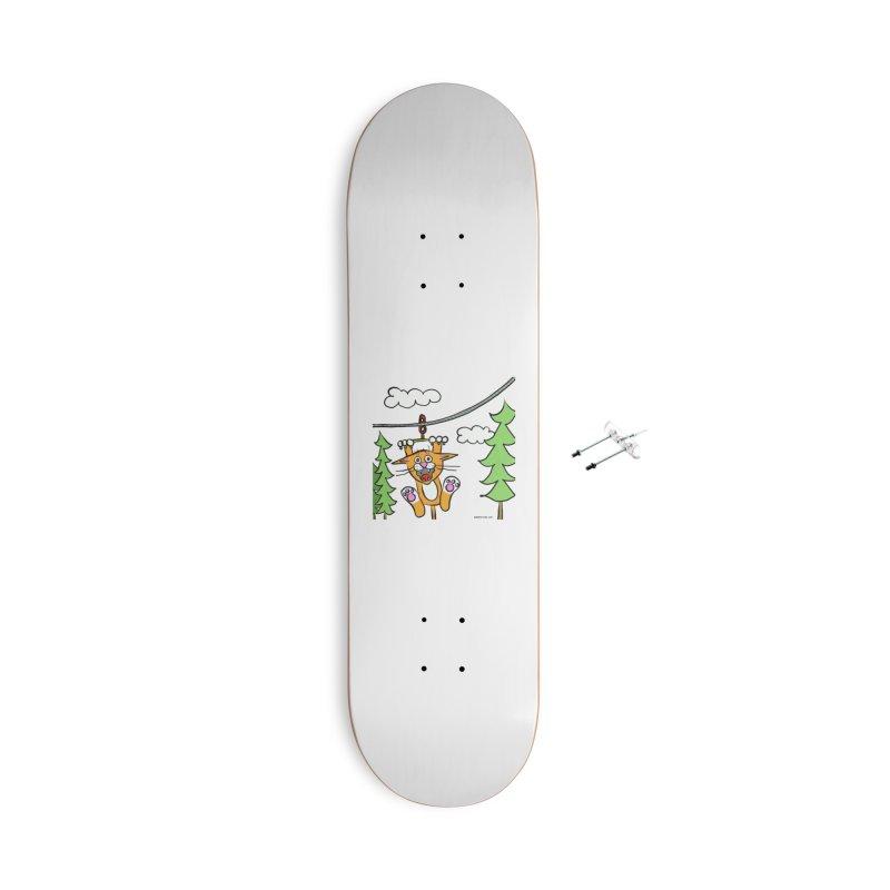 Zip line Accessories Skateboard by superartgirl's Artist Shop