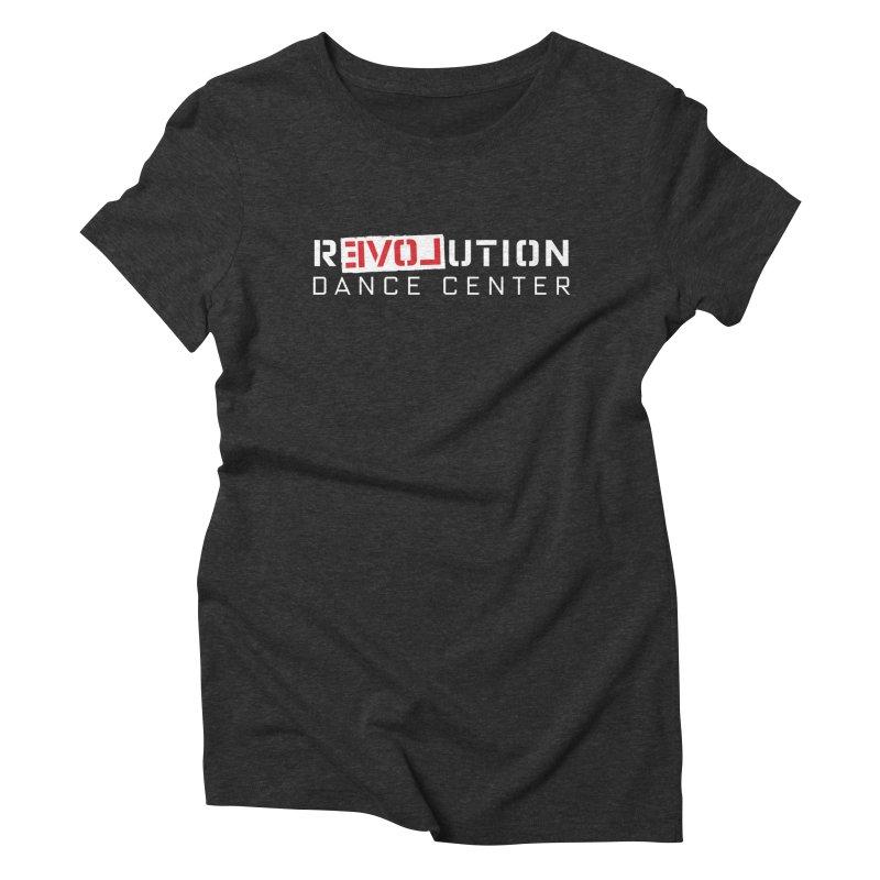 RDC Love Revolution After Dark in Women's Triblend T-Shirt Heather Onyx by superbrandnew shop