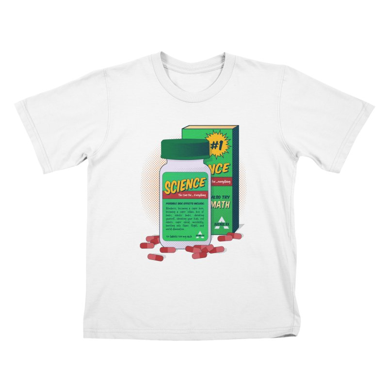 Science: It is Dangerous! Kids T-Shirt by Superdesigner's Artist Shop