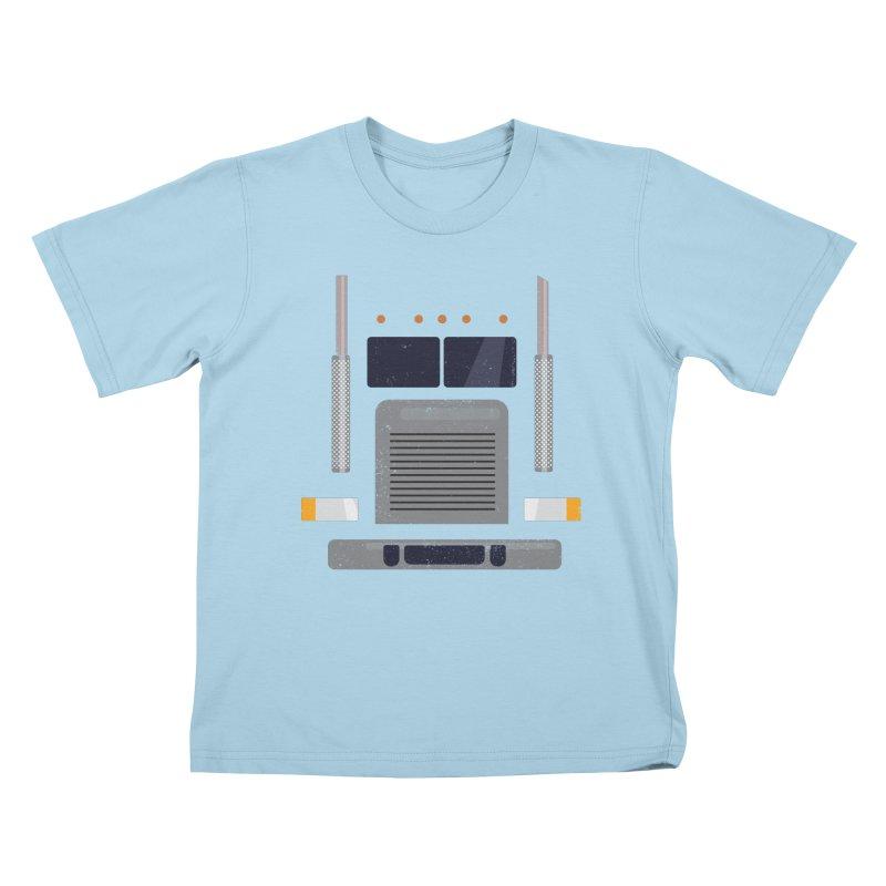Big Rig Kids T-Shirt by Super Designer's Artist Shop