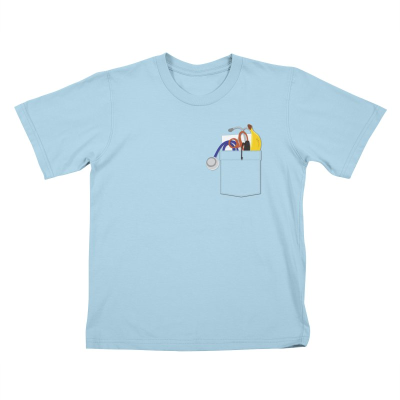 Scrubs Costume Kids T-Shirt by Super Designer's Artist Shop