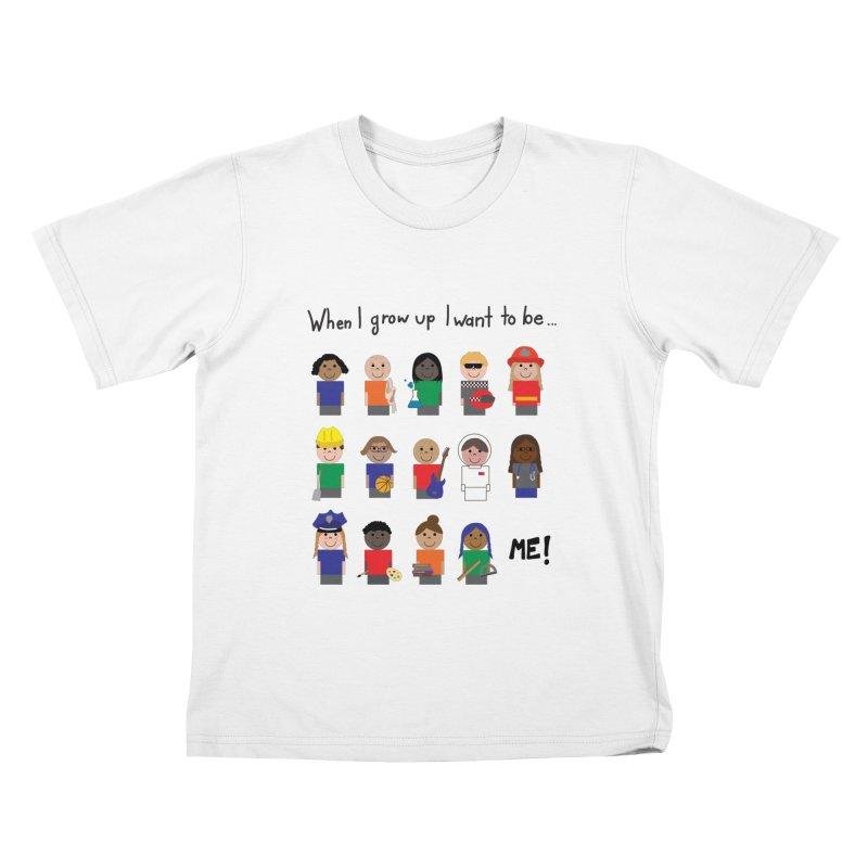 When I Grow Up - Color Kids T-Shirt by Superdesigner's Artist Shop