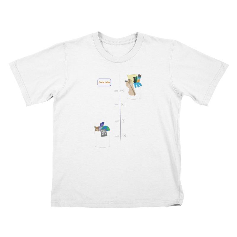 Scientist For a Day Kids T-Shirt by Super Designer's Artist Shop