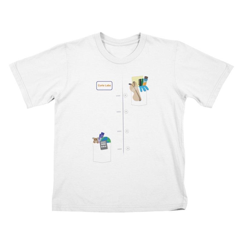 Scientist For a Day Kids T-Shirt by Superdesigner's Artist Shop