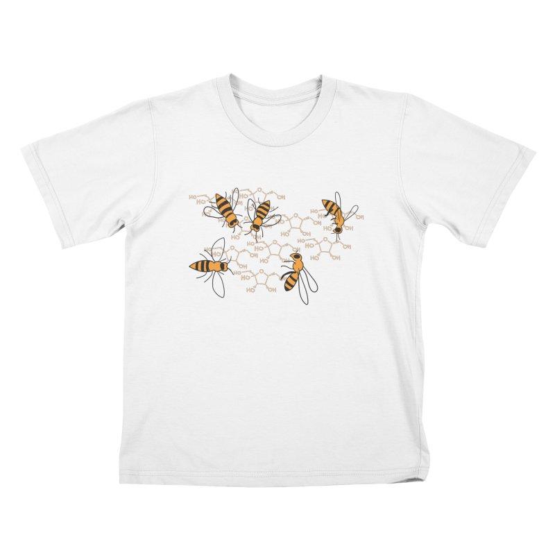 Honey Bees Kids T-Shirt by Superdesigner's Artist Shop