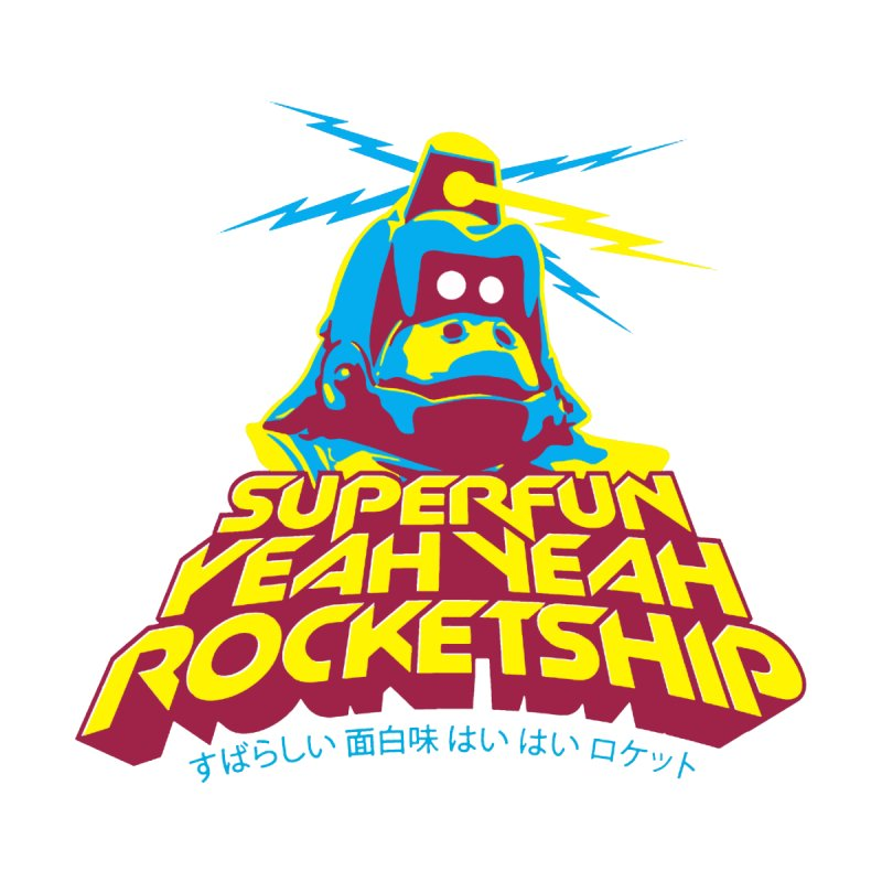 ROBOKONG Accessories Face Mask by Superfun Yeah Yeah Rocketship!