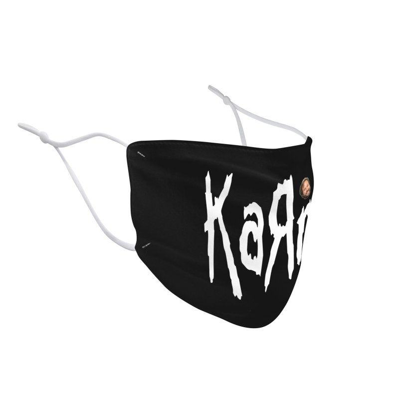 KARN Accessories Face Mask by Superfun Yeah Yeah Rocketship!
