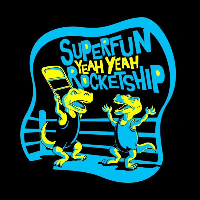 Dino Wrestlers! Accessories Notebook by Superfun Yeah Yeah Rocketship!