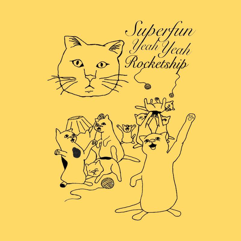 Party Cats! Men's T-Shirt by Superfun Yeah Yeah Rocketship!