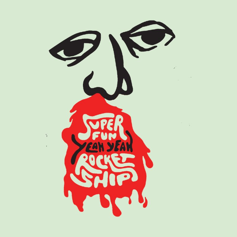 Bloody Nose Men's T-Shirt by Superfun Yeah Yeah Rocketship!