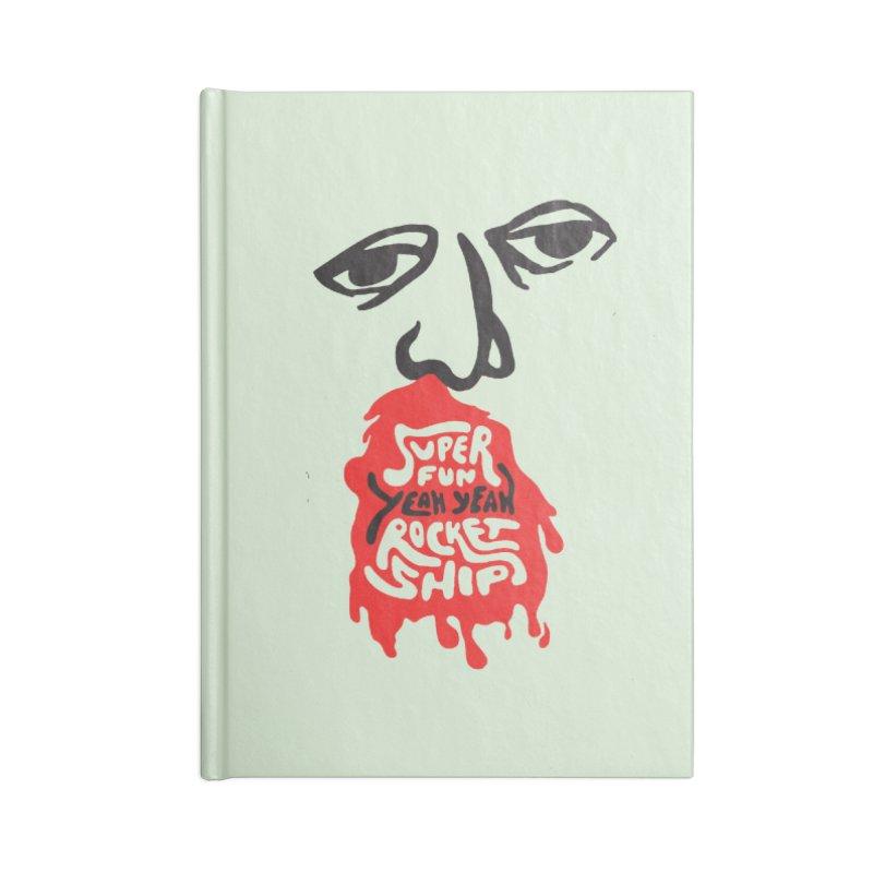 Bloody Nose Accessories Notebook by Superfun Yeah Yeah Rocketship!