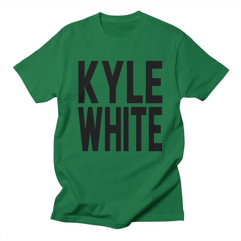 Kyle White Men's T-Shirt by Superfun Yeah Yeah Rocketship!
