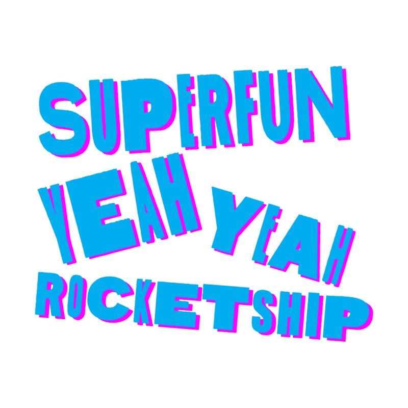 NEW KID Men's T-Shirt by Superfun Yeah Yeah Rocketship!