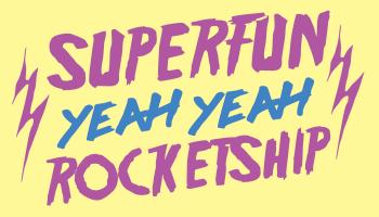 Superfun Yeah Yeah Rocketship! Logo