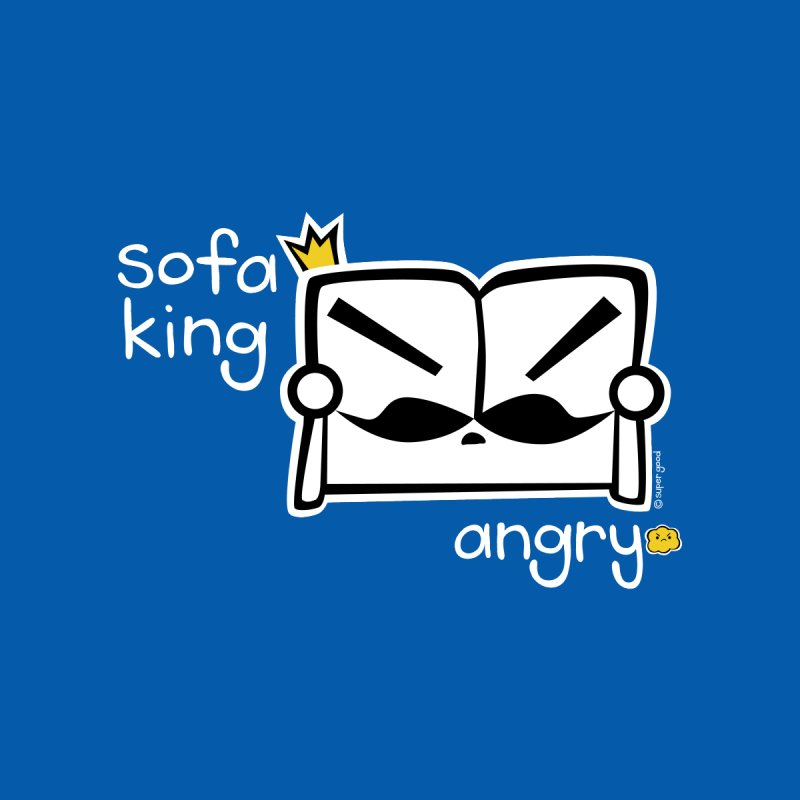 sofa king angry None  by super good clothing @ threadless!