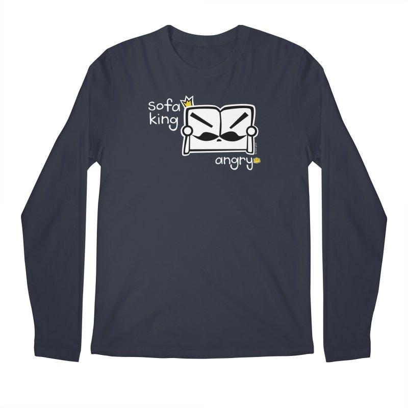 sofa king angry Men's Longsleeve T-Shirt by super good clothing @ threadless!